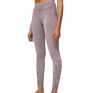 lululemon athletica Pants - Lululemon inner glow wash half moon tight legging
